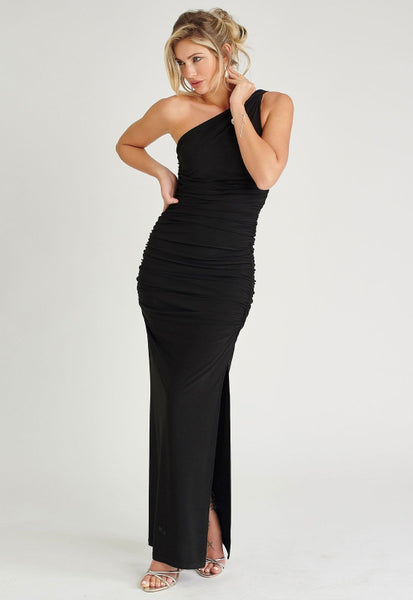 Angelina Maxi Dress in Black