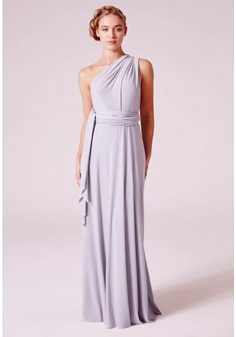 08d41f58553 Alexis Multiway Maxi Dress in Dove Grey – Revielondon