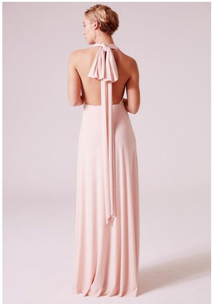 Alexis Multiway Maxi Dress In Nude