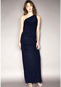 Angelina Maxi Dress in Navy