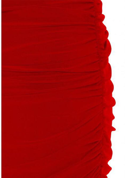Angelina Maxi Dress in Red