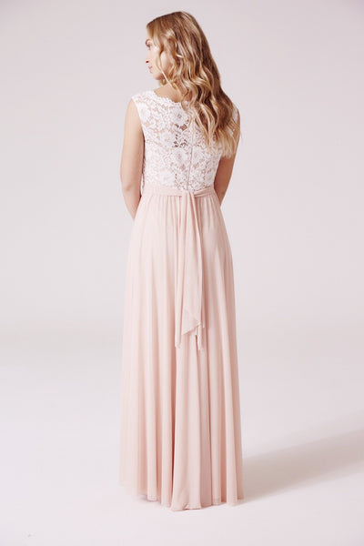 Emilia Maxi Dress With Lace Bodice
