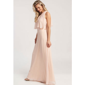Anastasia Blush Maxi Dress