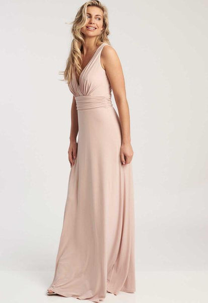 Lana Soft Peach Maxi Dress