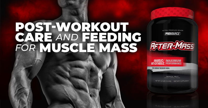 Post-Workout Care And Feeding For Muscle Mass