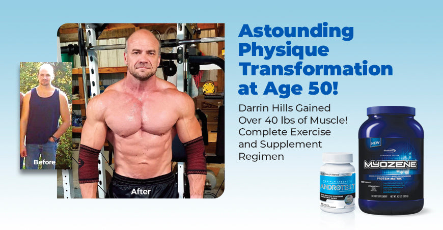 Astounding Physique Transformation At Age 50!