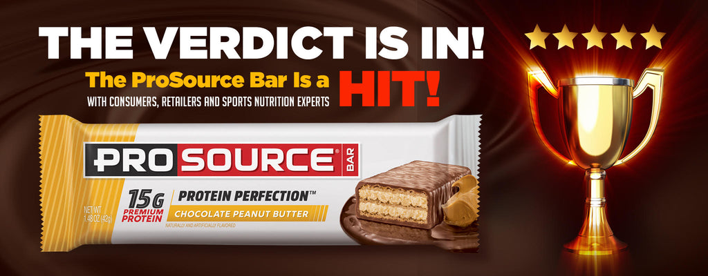 The ProSource Bar is a HIT With Consumers, Retailers, and Sports Nutrition Experts
