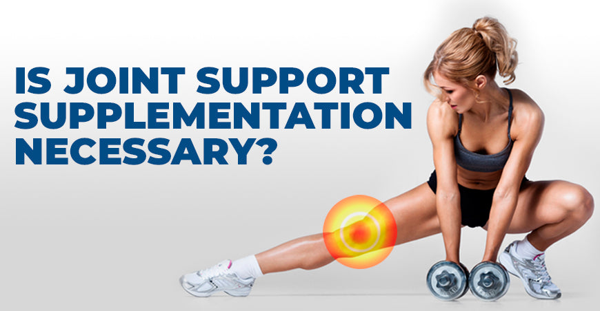 Is Joint Support Supplementation Necessary?