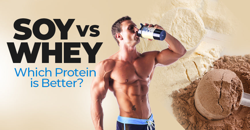 Soy Vs. Whey: Which Protein Is Better?