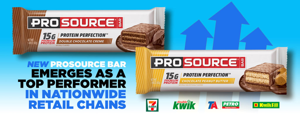 New ProSource Bar Emerges as a Top Performer in Nationwide Retail Chains