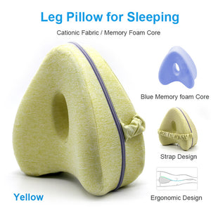 Orthopedic Leg Pillow With Memory Foam - 50% OFF TODAY