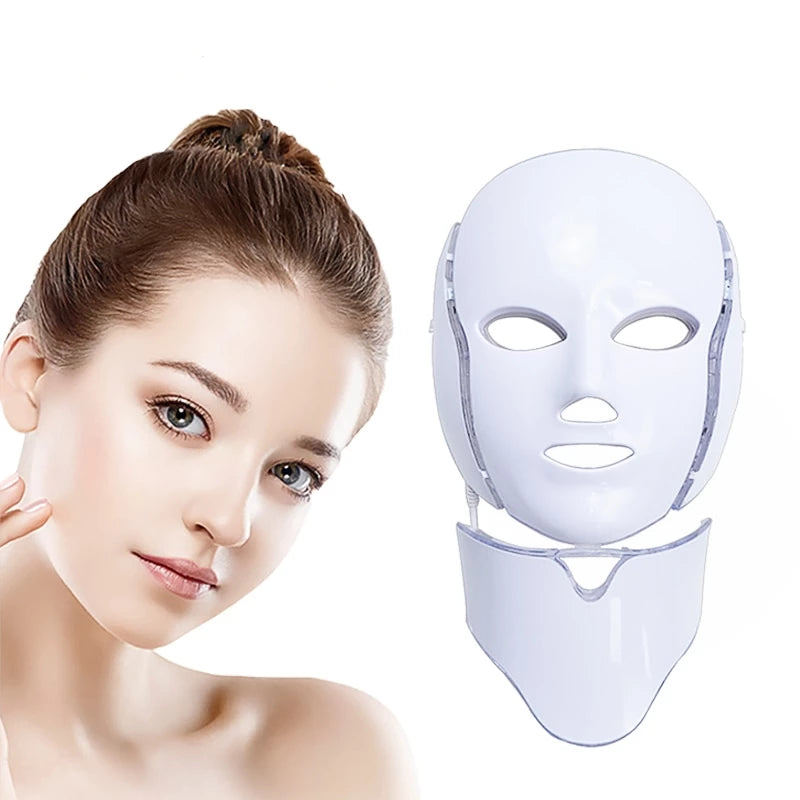 7 - Color LED Therapy Mask
