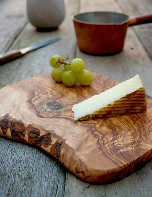 Rustic Cheese Board, Cutting Board, made of Olive Wood, Natural, Chemical Free, seamless, nonporous