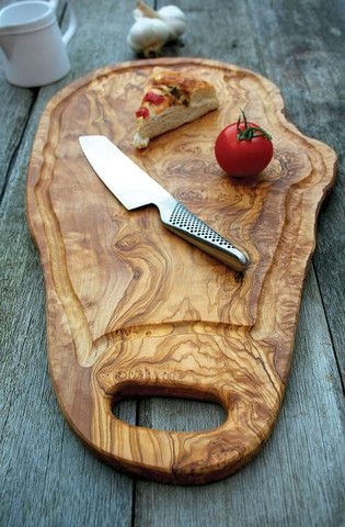 Cutting serving Board made of Olive Wood, Handmade, Natural, Chemical Free, seamless, nonporous