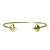 Baby Manta Ray Cuff Bracelet in 18K Gold Plate