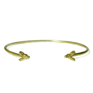 Ram Cuff Bracelet in 18K Gold Plate animal,bracelets,Year of the Ram ram-cuff-bracelet-in-18k-gold-plate Default Title