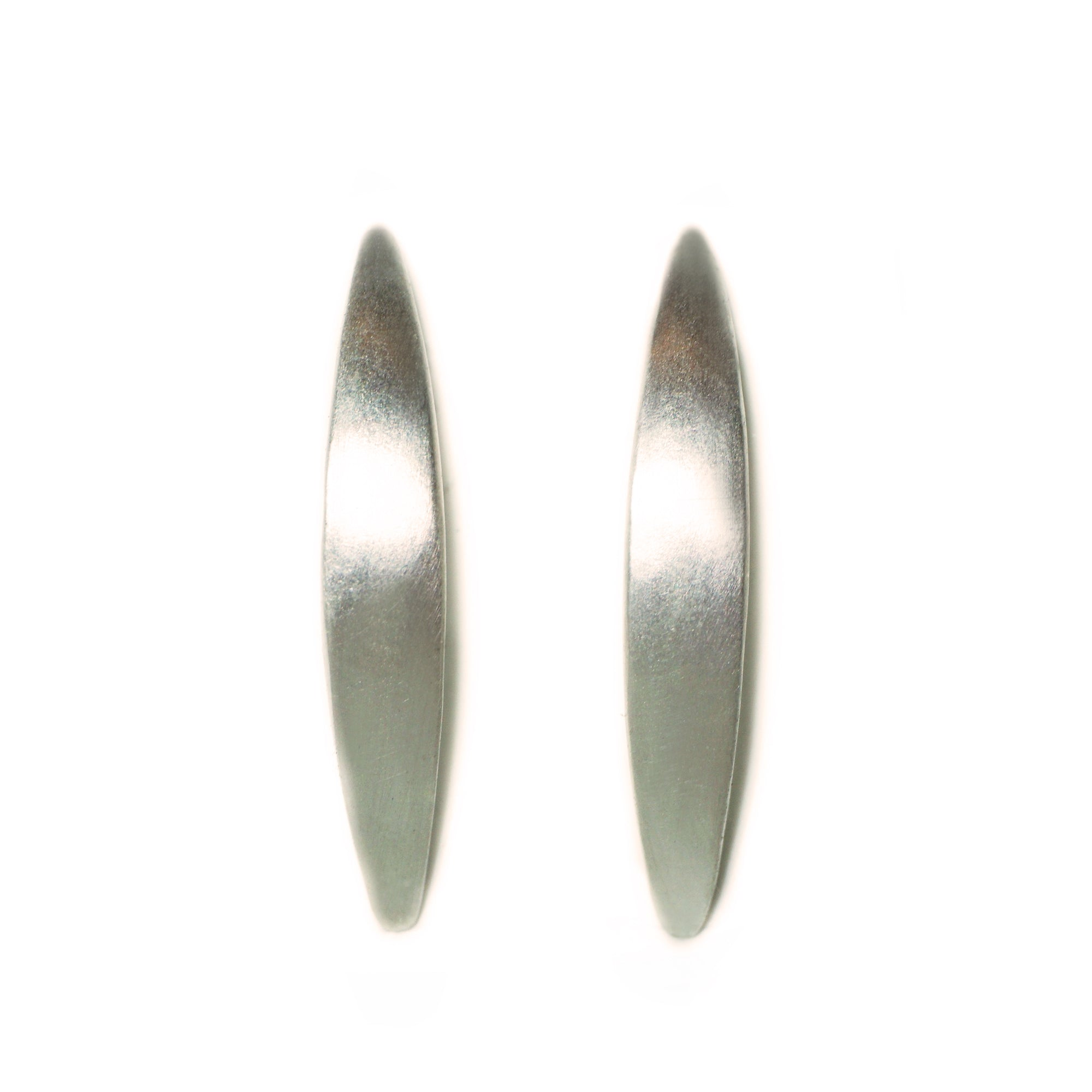 normal baja gallery stud monica metallic vinader lyst jewelry earrings in product silver long