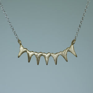 7 Spiky Heart Necklace