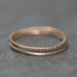 Ultra Thin Midi Ring in 14K Gold