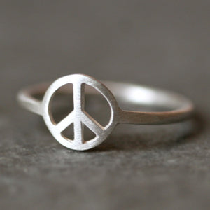 Peace Sign Ring in Sterling Silver SALE peace-sign-ring-in-sterling-silver 4,4.5,5,5.5,6,6.5,7,7.5,8,8.5,9,9.5
