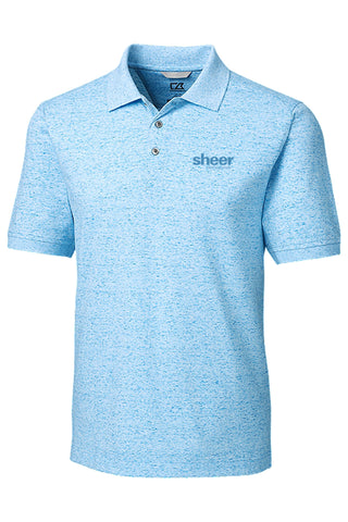 Men's Advantage Polo Space Dye