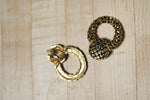 Unique Snake Vintage Gold Clips