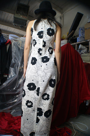 Vintage 1960's Mod Maxi Dress - ULTRA-CAT