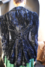 RARE!!!Unique Corset Betsy Johnson Blazer - ULTRA-CAT