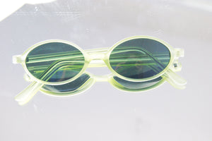 1990's Green Slim Vintage Sunglasses - ULTRA-CAT