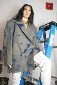 Givenchy Painted Oversized Blazer - ULTRA-CAT