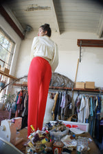 Luxurious Vintage Orange Pants - ULTRA-CAT
