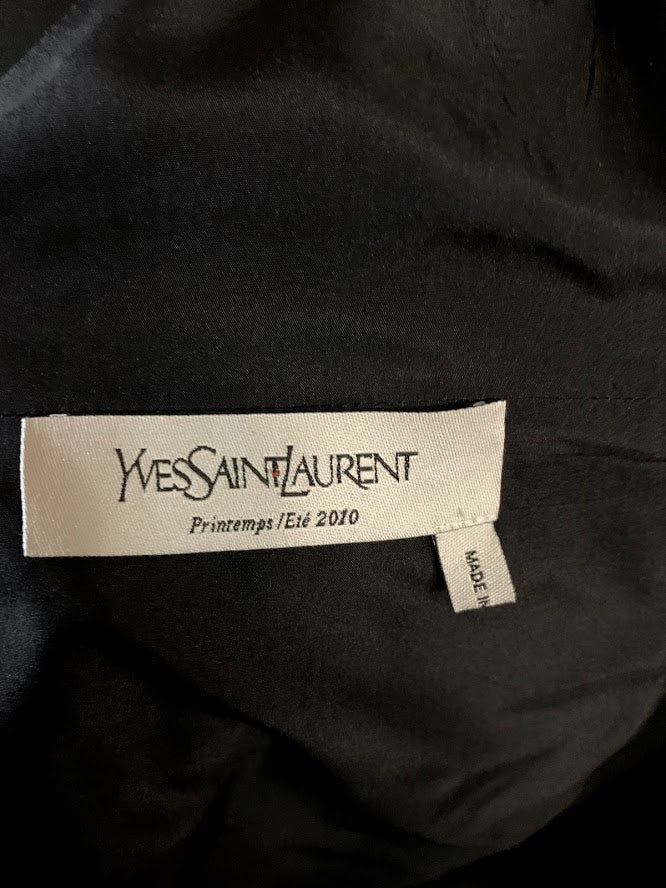 Yves Saint Laurent RARE Bow Blouse - ULTRA-CAT