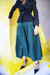 Vintage Redesigned Plaid Skirt - ULTRA-CAT
