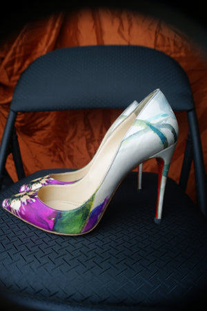 Christian Louboutin Floral Classic Pumps - ULTRA-CAT
