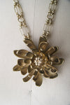 Flower Vintage Pendant Necklace - ULTRA-CAT