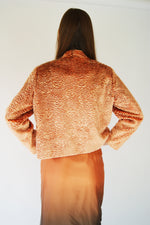 Apricot Vintage 1950's Faux Fur Jacket's - ULTRA-CAT