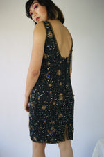 Whimsical Astrological Sign And Starry Night Dress - ULTRA-CAT
