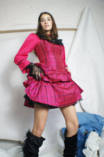 Unique Taffeta Betsey Johnson Dress - ULTRA-CAT
