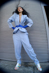 Blue Vintage Oversized Suit - ULTRA-CAT
