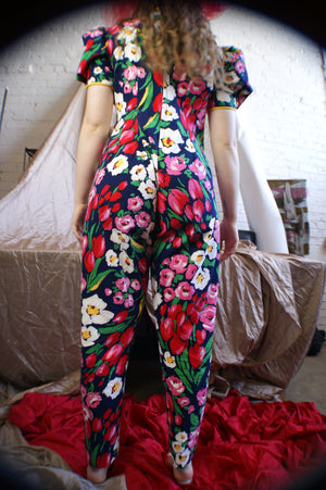 Vintage Upcyled Clown Jumpsuit - ULTRA-CAT