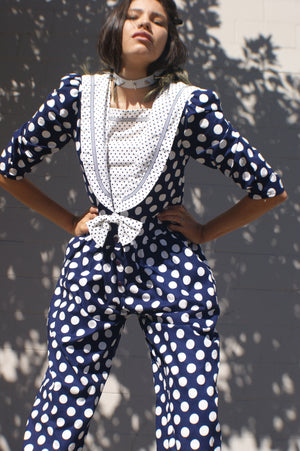 Unique Polka Dot Jumpsuit