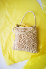 Vintage Macrame Market Bag - ULTRA-CAT