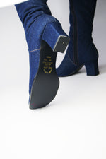 Denim Vintage Boots - ULTRA-CAT