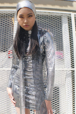 Disco Y2K Re-purposed Mini Dress - ULTRA-CAT