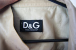Vintage AUTHENTIC Dolce & Gabanna Leather Jacket With Hand Painting - ULTRA-CAT