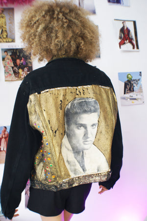 Whimsical 1980's DIY Jacket - ULTRA-CAT