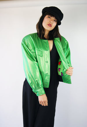 Escada 1980's Bomber Jacket - ULTRA-CAT