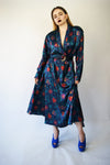 Vintage Floral Wrap Dress Similar To Chloe Aesthetics - ULTRA-CAT