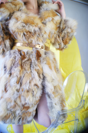 Vintage 1970's Fox Coat - ULTRA-CAT