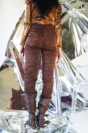1980's Glitter Leggings - ULTRA-CAT